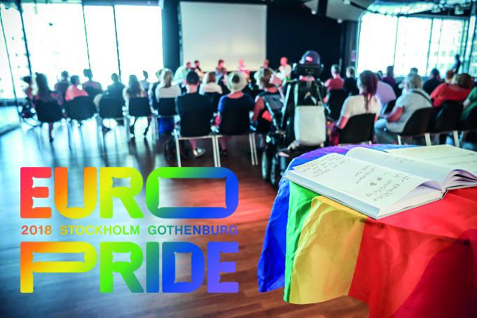 Human Rights Conference – fredag 3 augusti på EuroPride House Stockholm