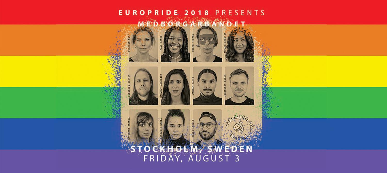Medborgarbandet till EuroPride 2018 Stockholm
