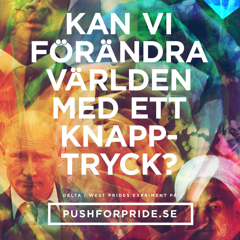Push for Pride – Kampanjen som pushar för förändring