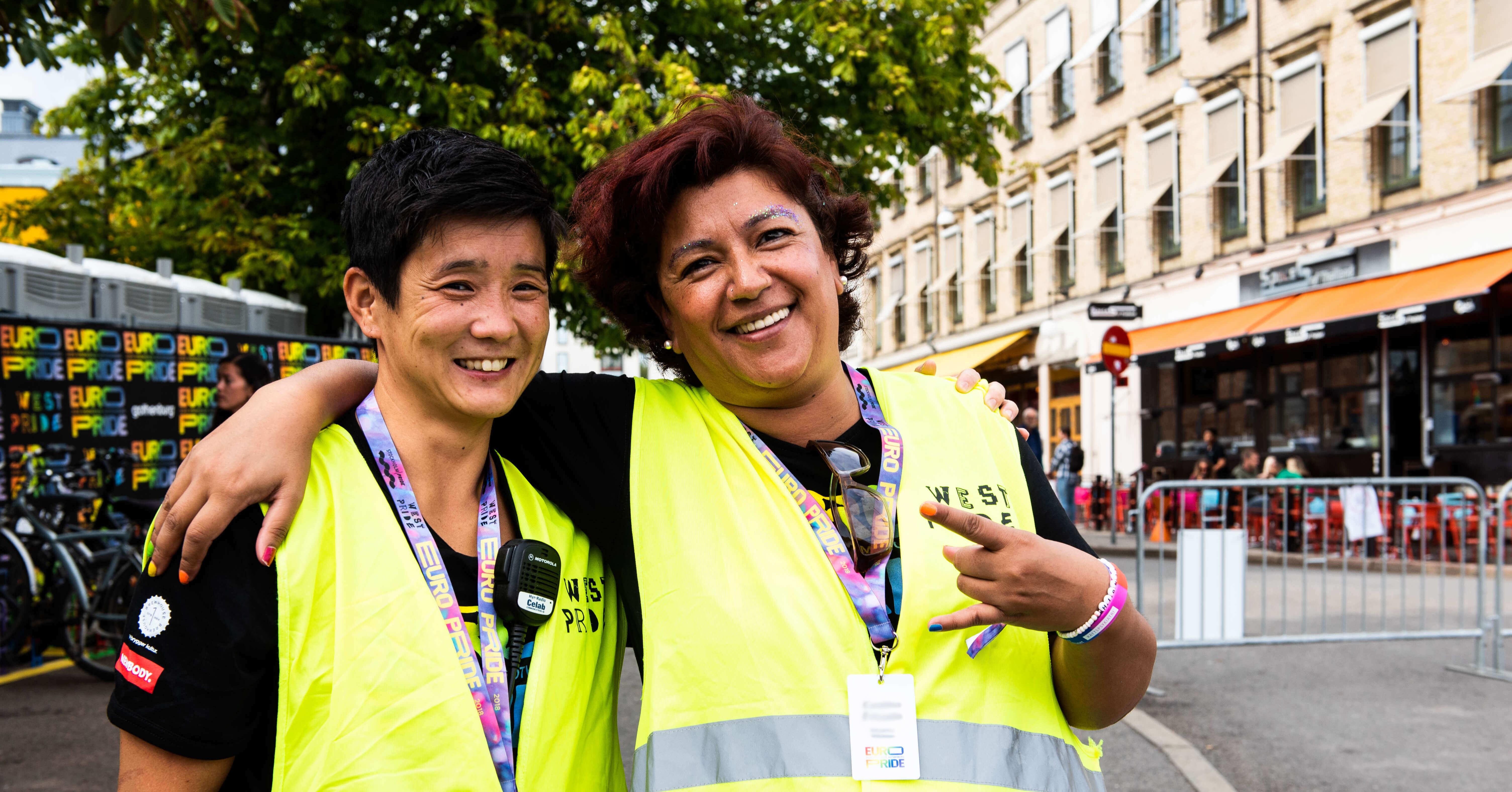 Bli volontär på West Pride!